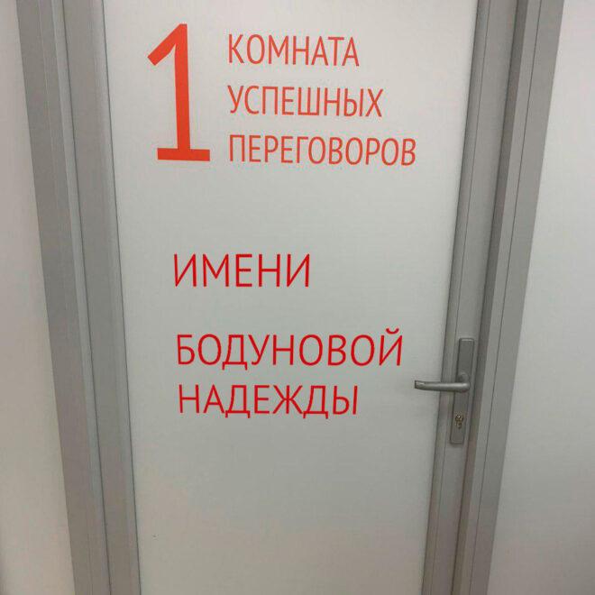Этажи_наклейка_на_дверь_